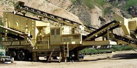 Crawler-type Mobile Crusher